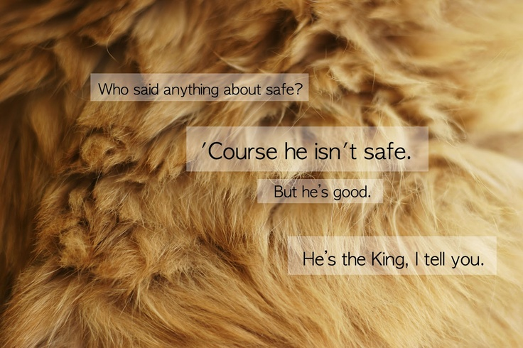 Aslan Not Safe But Good