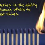 Leadership = Influence